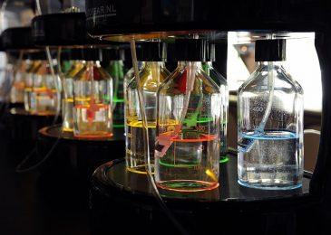 Zuurstofbar met aroma stations